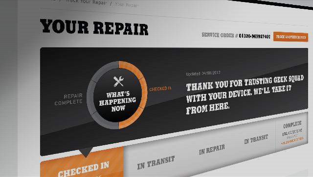 repair tracker