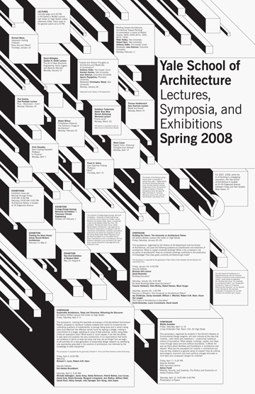Yale School Of Architecture Poster Series Yve Ludwig