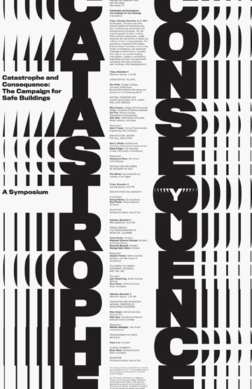 yale school of architecture poster series