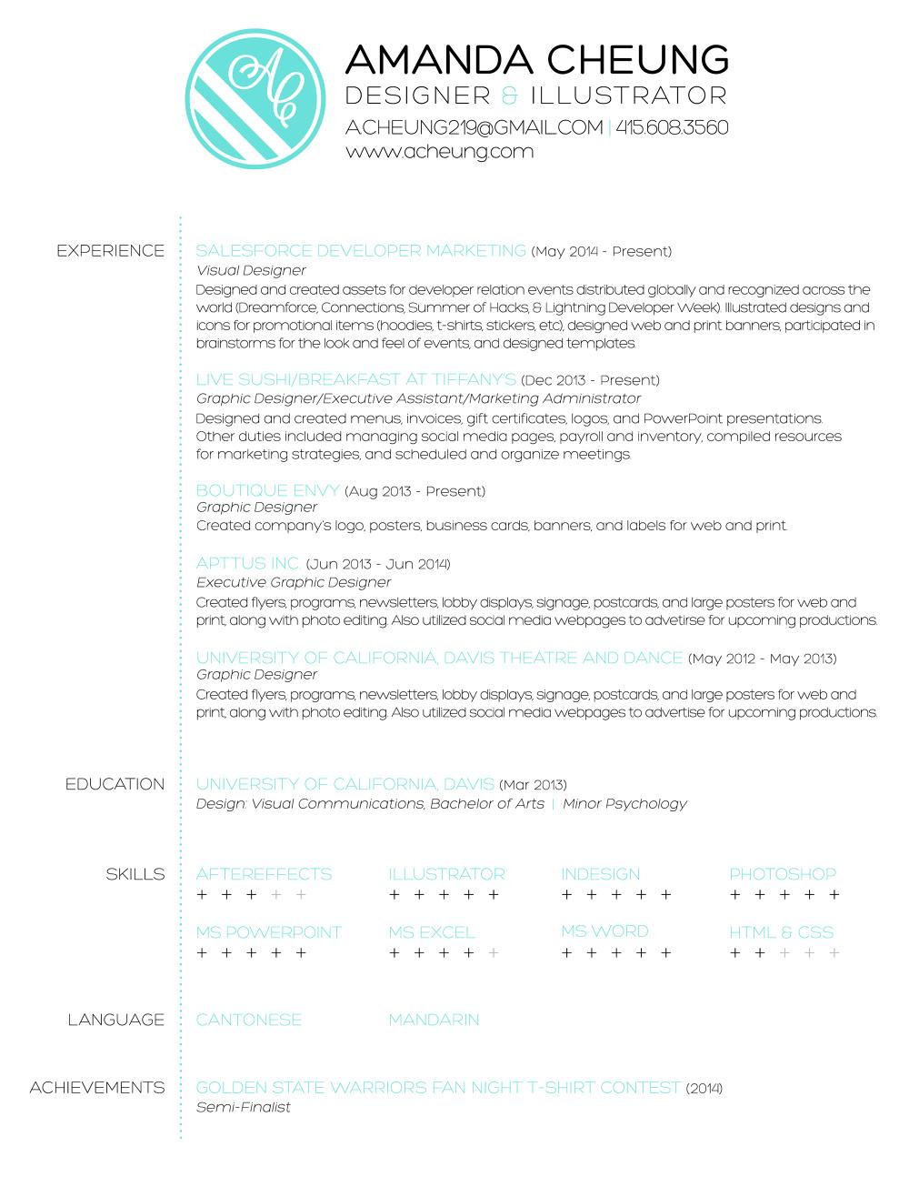 Nice Resume Basics Uc Davis Contemporary - Entry Level Resume ...